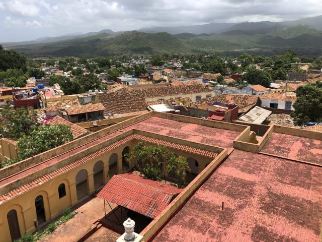 View From The Bandit Museum Tower, Trinidad