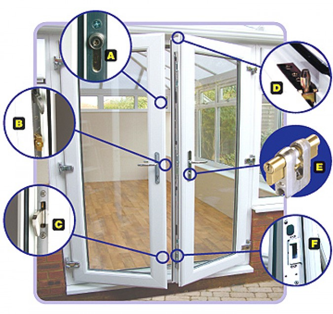 how to make patio doors more secure