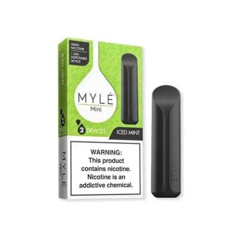 MYLE Mini Iced Mint Disposable Device