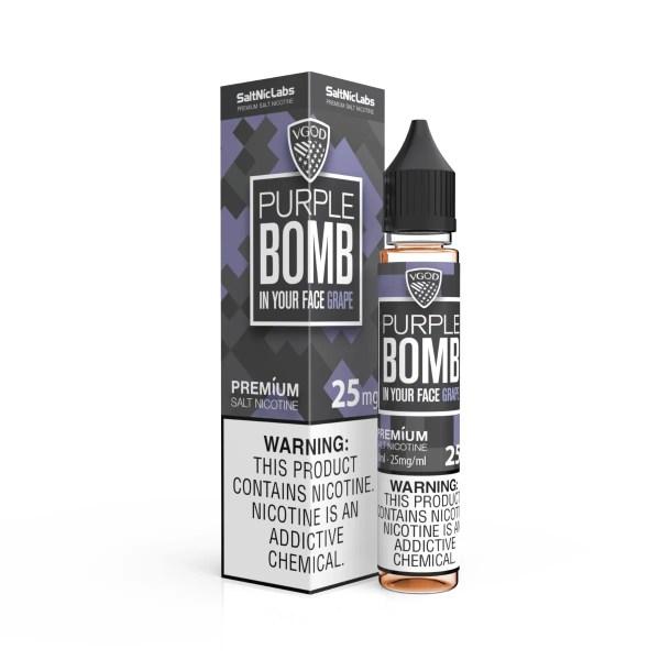 VGOD SALTNIC PURPLE BOMB 30ML