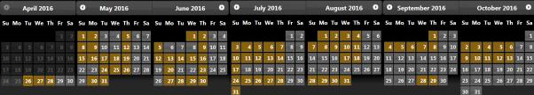 mirage-calendar