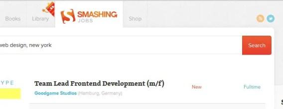 Freelancing Website Smashing Jobs