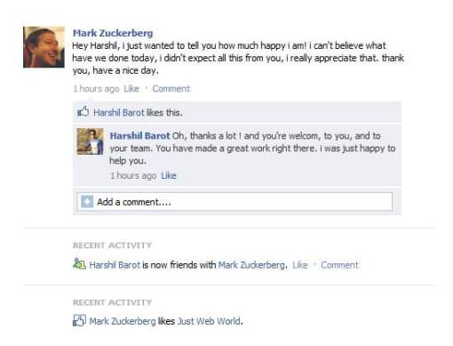 Post and Create Fake Facebook Status