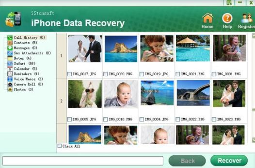 iStonsoft iPhone Data Recovery Software