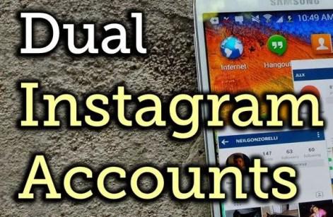 Dual Instagram Accounts