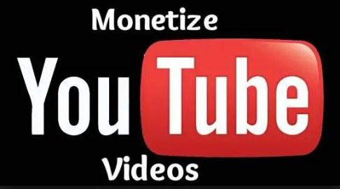 Monetize Youtube Videos