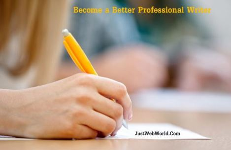 Become Better Professional Writer