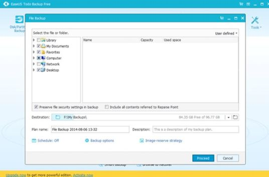 Manual File Backup Software