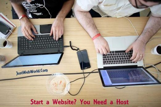 Start a Website? You Need a Host