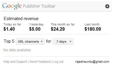 Google-Publisher-Toolbar-Extension