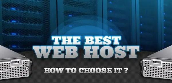 Choose a Web Hosting Service