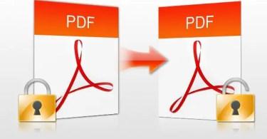 PDF Password Remover Windows 8