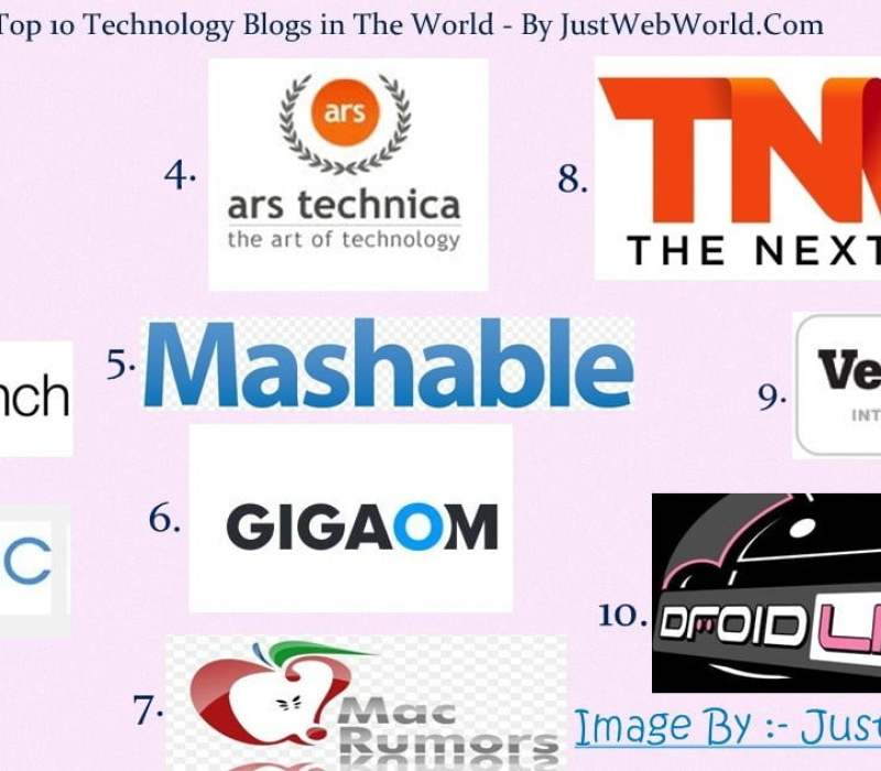 Top 10 Technology Blogs in the World