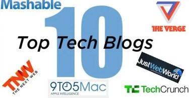 Technology Top 10 Blogs