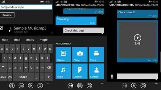Send Music Songs WhatsApp app