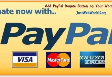 Add PayPal Donate Button on Your WordPress Blog