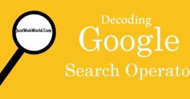 Decoding Google Search Operators