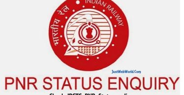 irctc pnr status check sms