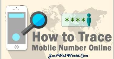 how to trace the mobile number location with address