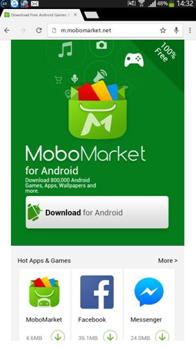 Android App Marketplace MoboMarket