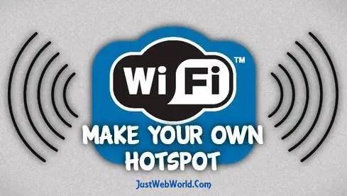 How to create wifi hotspot In Windows
