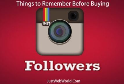 Things before buying Instagram Followers