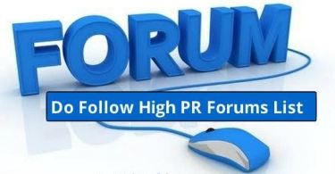 Free Forums Posting Sites List 2016