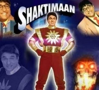 Indian Superhero Shaktimaan