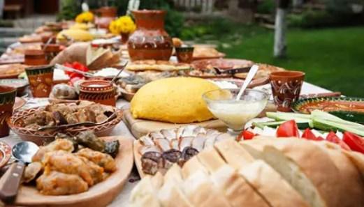 Create a food blog