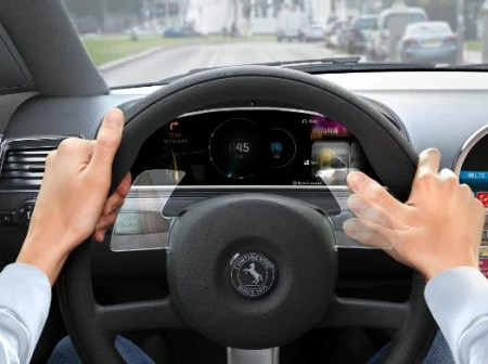How to control the steering wheel
