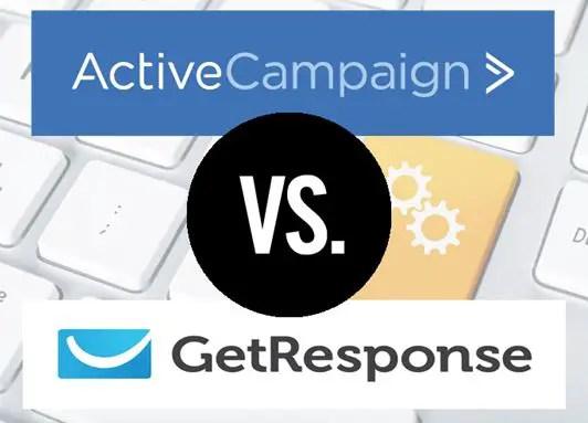 GetResponse vs. ActiveCampaign