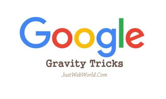 Google Gravity Tricks 2017