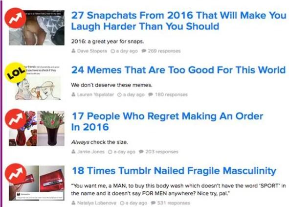 Niche List Blogs