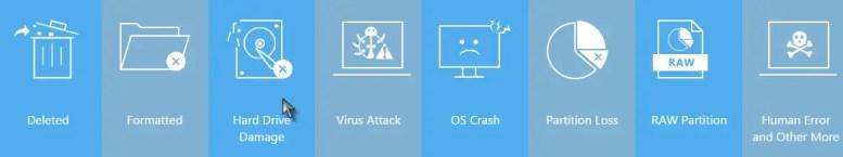Data-loss Scenarios