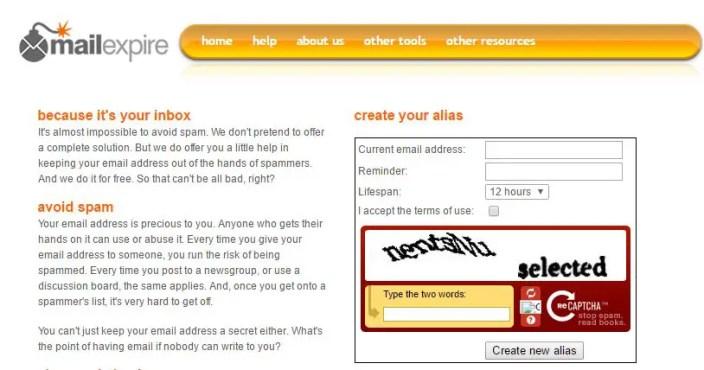 MailExpire.com