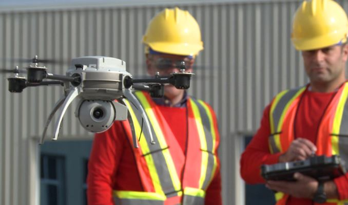 Using Drones for Building Inspections