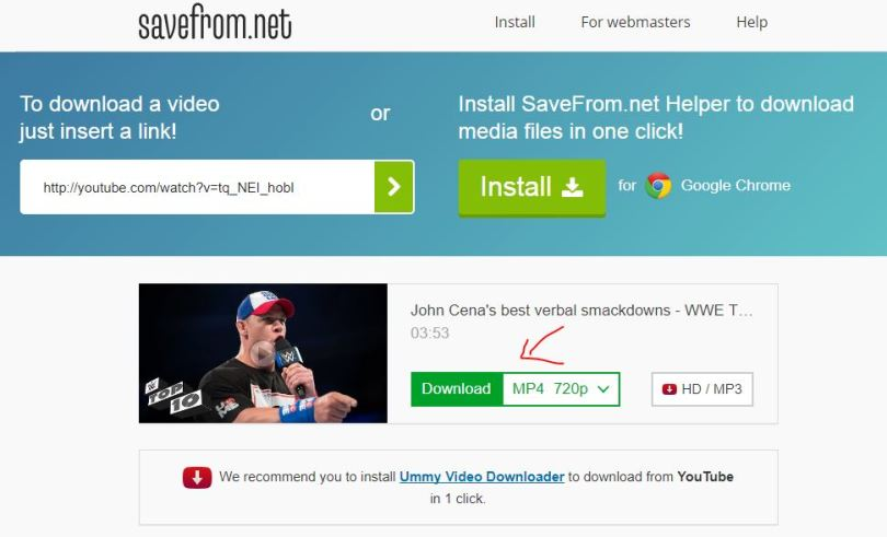 Directly Download the Blocked YouTube Videos Online