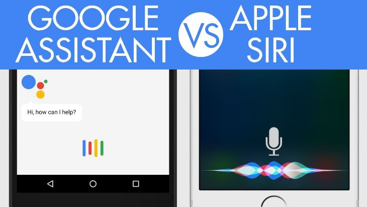 Siri vs. Google Assistant on iPhone