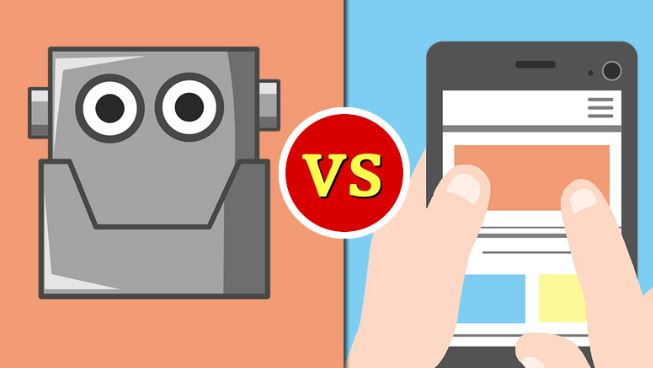 ChatBots vs. Apps