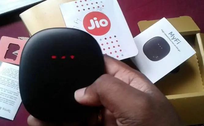 JioFi Portable 4G Wifi Router
