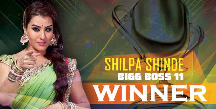 Bigg Boss 11 winner Shilpa Shinde