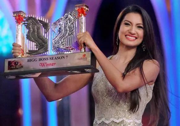 Bigg Boss Season 7 Winner – Gauhar Khan