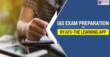 IAS Exam Preparation With Byju's