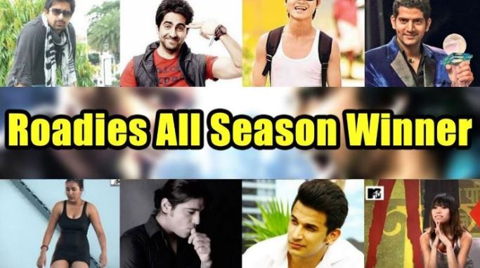 MTV Roadies All Season Winners