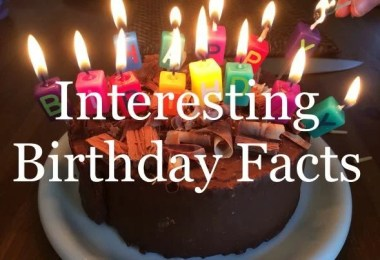 Interesting Facts About Your Birthday
