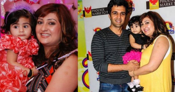 Juhi Parmar and Family