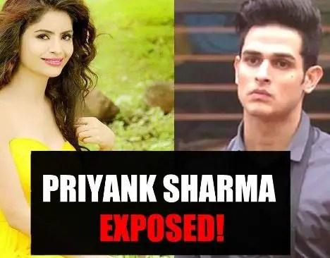 Priyank Sharma EXPOSED by Gehana Vasisth