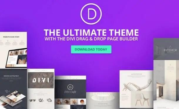 Divi - WordPress Theme & Visual Page Builder