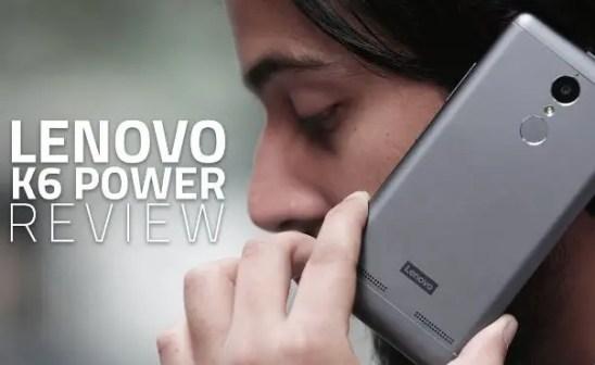 Lenovo K6 Power Review