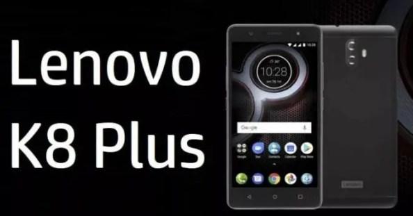 Lenovo K8 Plus | Entertainment & Photography Smartphone